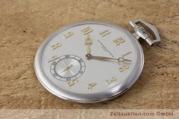 Used luxury watch Vacheron & Constantin Pocket Watch platinium manual winding VINTAGE  | 161839 01