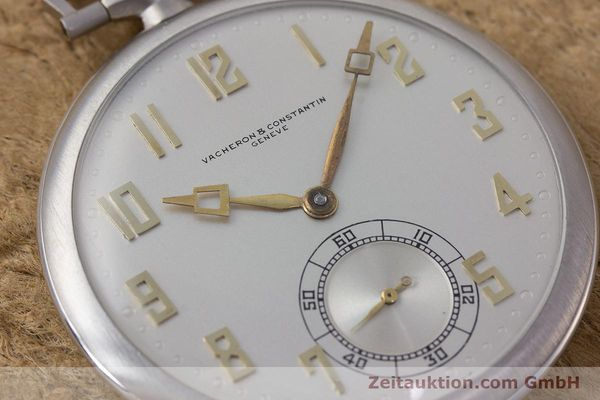 Used luxury watch Vacheron & Constantin Pocket Watch platinium manual winding VINTAGE  | 161839 02