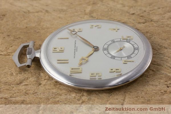 Used luxury watch Vacheron & Constantin Pocket Watch platinium manual winding VINTAGE  | 161839 05