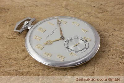 VACHERON & CONSTANTIN POCKET WATCH PLATINIUM MANUAL WINDING VINTAGE [161839]