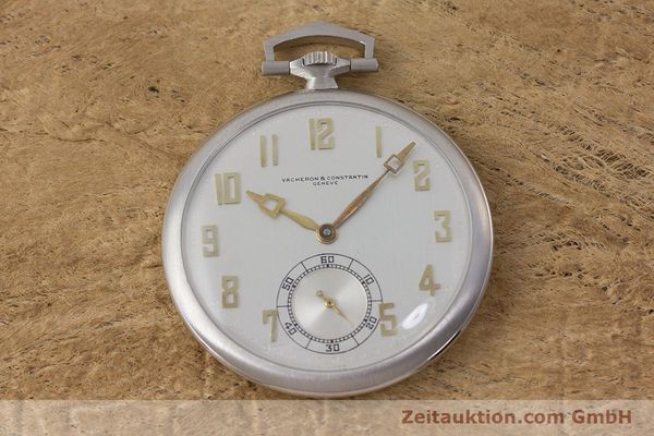 Used luxury watch Vacheron & Constantin Pocket Watch platinium manual winding VINTAGE  | 161839 14