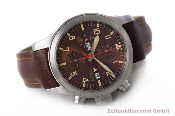 Used luxury watch Fortis B-42 chronograph steel automatic Kal. ETA 7750 Ref. 656.10.141  | 161841 03