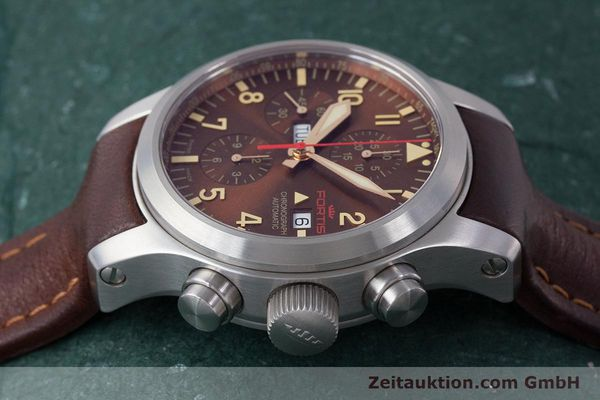 Used luxury watch Fortis B-42 chronograph steel automatic Kal. ETA 7750 Ref. 656.10.141  | 161841 05