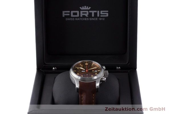 Used luxury watch Fortis B-42 chronograph steel automatic Kal. ETA 7750 Ref. 656.10.141  | 161841 07
