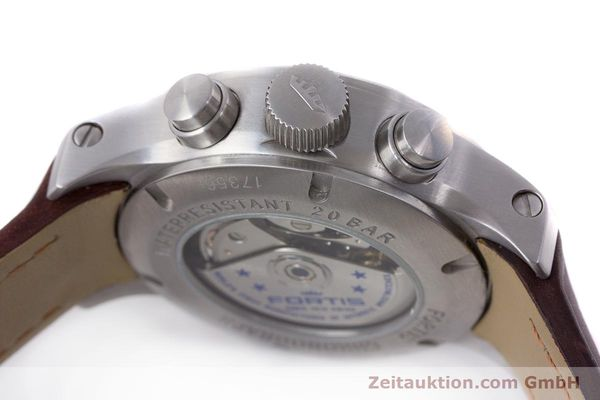 Used luxury watch Fortis B-42 chronograph steel automatic Kal. ETA 7750 Ref. 656.10.141  | 161841 09