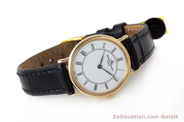 Used luxury watch Baume & Mercier * 18 ct gold quartz Kal. BM9098 ETA 210.001  | 161843 03
