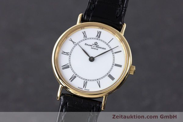 BAUME & MERCIER LADY 18K (0,750) RONDE GOLD DAMENUHR VP: 6300,- EURO [161843]