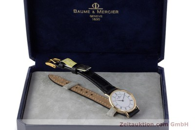 BAUME & MERCIER OR 18 CT QUARTZ KAL. BM9098 ETA 210.001 [161843]