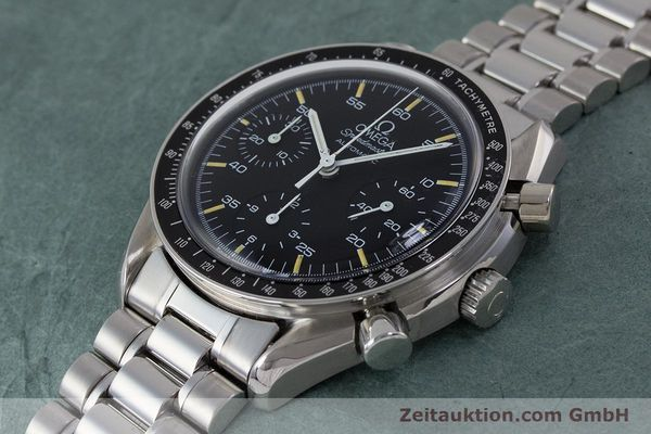Used luxury watch Omega Speedmaster chronograph steel automatic Kal. 1140 ETA 2890-2 Ref. 3510.50.00  | 161851 01
