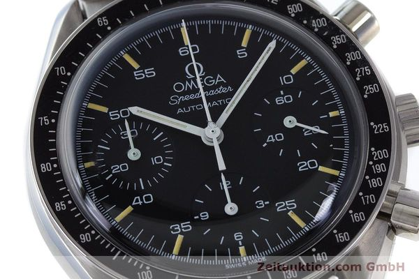 Used luxury watch Omega Speedmaster chronograph steel automatic Kal. 1140 ETA 2890-2 Ref. 3510.50.00  | 161851 02