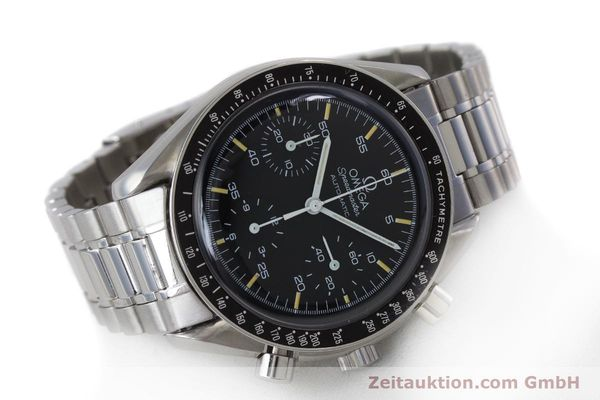 Used luxury watch Omega Speedmaster chronograph steel automatic Kal. 1140 ETA 2890-2 Ref. 3510.50.00  | 161851 03