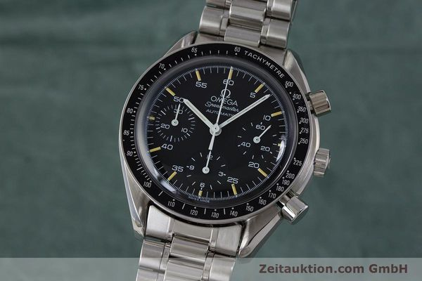 Used luxury watch Omega Speedmaster chronograph steel automatic Kal. 1140 ETA 2890-2 Ref. 3510.50.00  | 161851 04