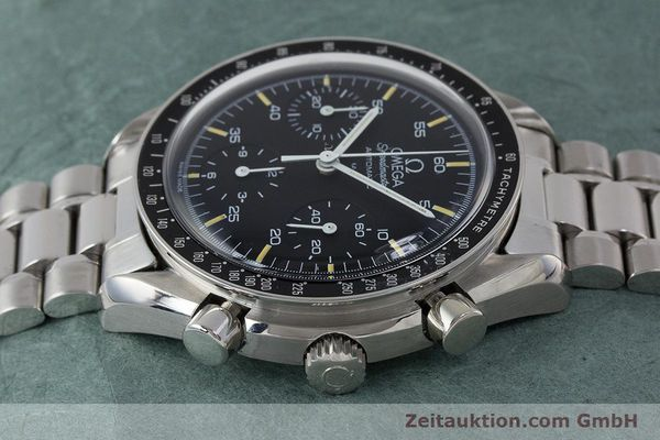 Used luxury watch Omega Speedmaster chronograph steel automatic Kal. 1140 ETA 2890-2 Ref. 3510.50.00  | 161851 05