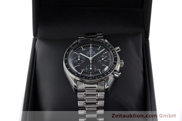 Used luxury watch Omega Speedmaster chronograph steel automatic Kal. 1140 ETA 2890-2 Ref. 3510.50.00  | 161851 07