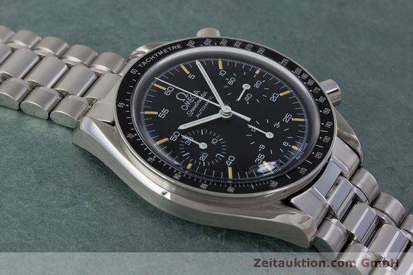 Used luxury watch Omega Speedmaster chronograph steel automatic Kal. 1140 ETA 2890-2 Ref. 3510.50.00  | 161851 14