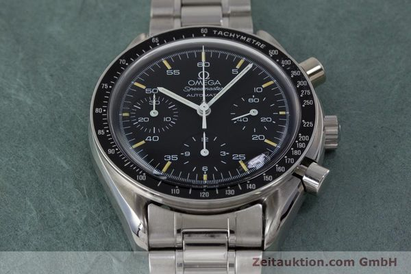 Used luxury watch Omega Speedmaster chronograph steel automatic Kal. 1140 ETA 2890-2 Ref. 3510.50.00  | 161851 15