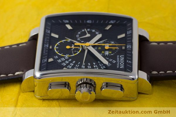 Used luxury watch Union Glashütte Averin chronograph steel automatic Kal. U7751 Ref. D003.525A  | 161856 05