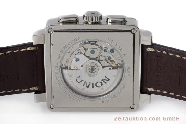 Used luxury watch Union Glashütte Averin chronograph steel automatic Kal. U7751 Ref. D003.525A  | 161856 09