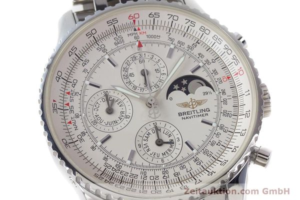 Used luxury watch Breitling Montbrillant chronograph steel automatic Kal. B19 ETA 2892-A2 Ref. A19340  | 161857 02