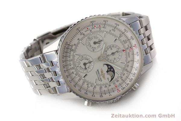 Used luxury watch Breitling Montbrillant chronograph steel automatic Kal. B19 ETA 2892-A2 Ref. A19340  | 161857 03