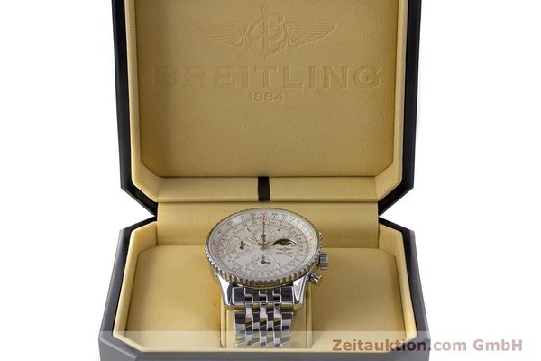 Used luxury watch Breitling Montbrillant chronograph steel automatic Kal. B19 ETA 2892-A2 Ref. A19340  | 161857 07