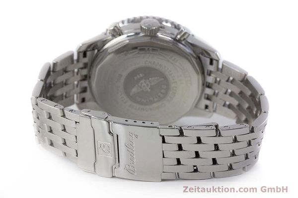 Used luxury watch Breitling Montbrillant chronograph steel automatic Kal. B19 ETA 2892-A2 Ref. A19340  | 161857 12