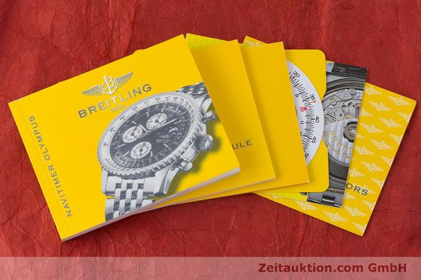 Used luxury watch Breitling Montbrillant chronograph steel automatic Kal. B19 ETA 2892-A2 Ref. A19340  | 161857 15