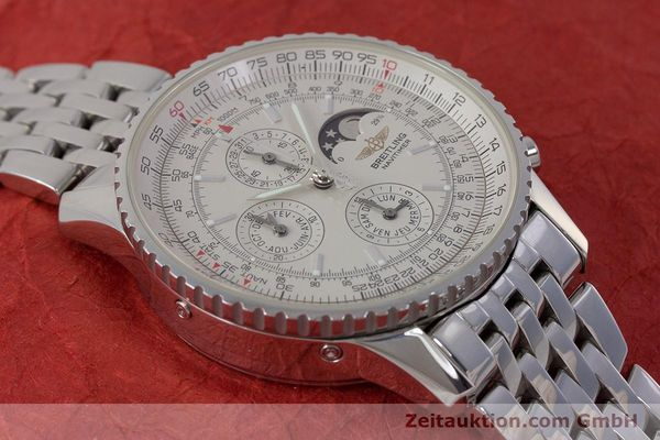 Used luxury watch Breitling Montbrillant chronograph steel automatic Kal. B19 ETA 2892-A2 Ref. A19340  | 161857 17