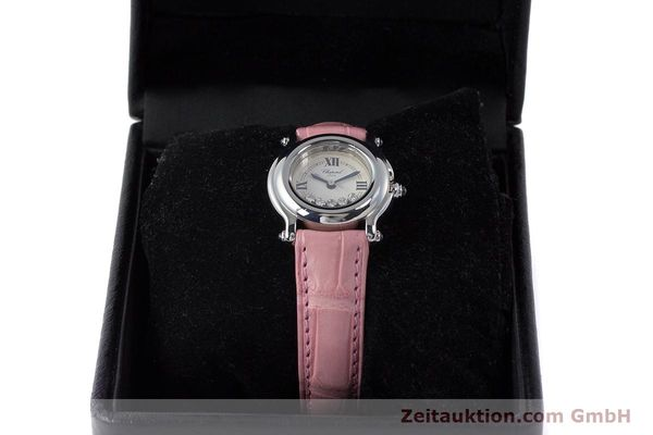 Used luxury watch Chopard Happy Sport steel quartz Kal. ETA 956102 Ref. 27/8245-23  | 161858 07