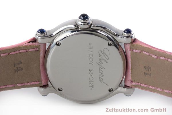 Used luxury watch Chopard Happy Sport steel quartz Kal. ETA 956102 Ref. 27/8245-23  | 161858 09