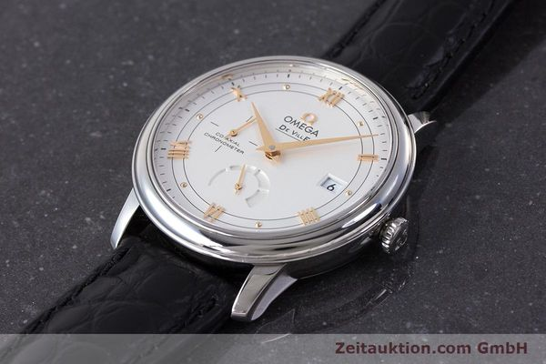 Used luxury watch Omega De Ville steel automatic Kal. 2627 Ref. 424.13.40.21.02.002  | 161863 01