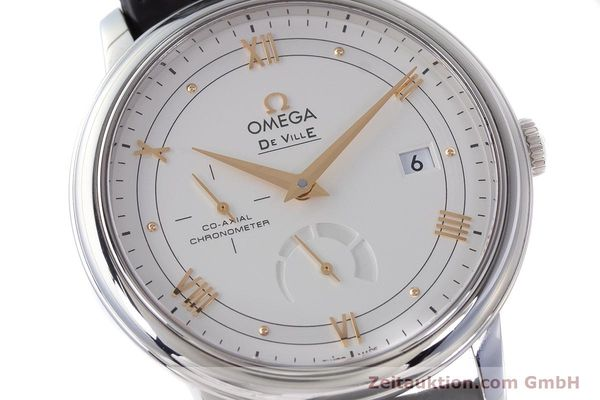 Used luxury watch Omega De Ville steel automatic Kal. 2627 Ref. 424.13.40.21.02.002  | 161863 02