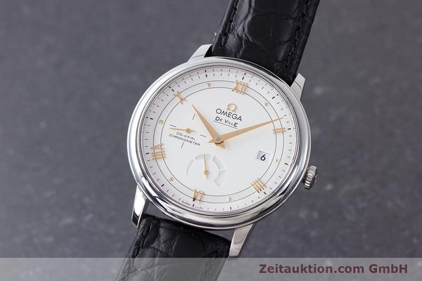 Used luxury watch Omega De Ville steel automatic Kal. 2627 Ref. 424.13.40.21.02.002  | 161863 04