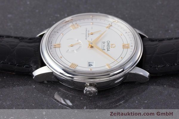 Used luxury watch Omega De Ville steel automatic Kal. 2627 Ref. 424.13.40.21.02.002  | 161863 05