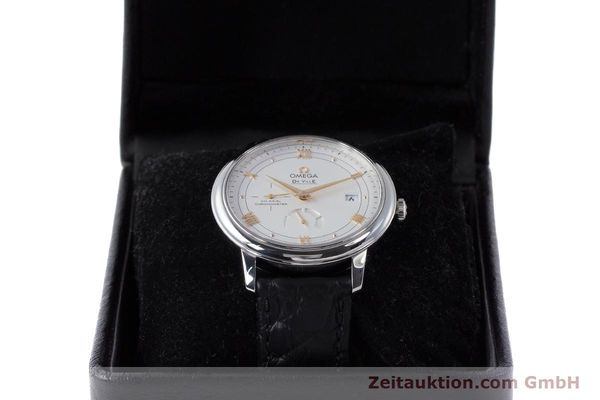 Used luxury watch Omega De Ville steel automatic Kal. 2627 Ref. 424.13.40.21.02.002  | 161863 07