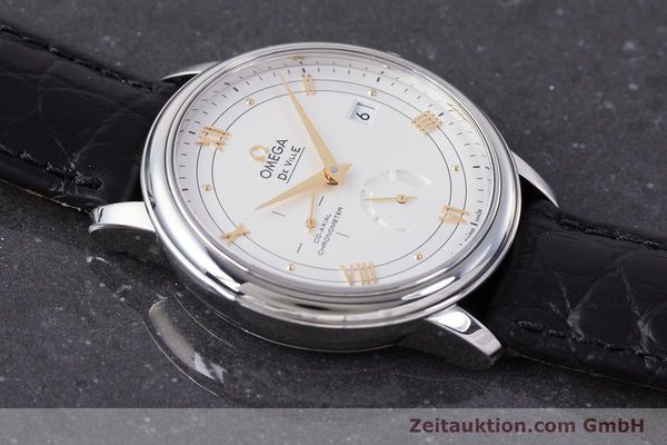 Used luxury watch Omega De Ville steel automatic Kal. 2627 Ref. 424.13.40.21.02.002  | 161863 15