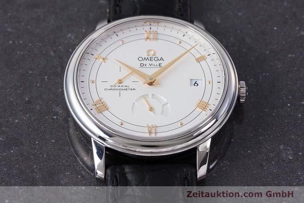 Used luxury watch Omega De Ville steel automatic Kal. 2627 Ref. 424.13.40.21.02.002  | 161863 16