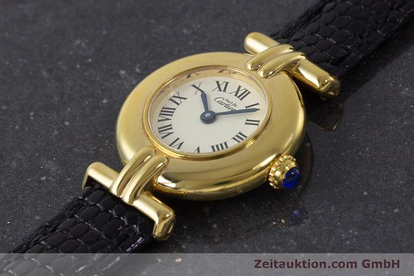 Used luxury watch Cartier Vermeil silver-gilt quartz Kal. 90  | 161864 01