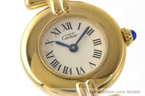 Used luxury watch Cartier Vermeil silver-gilt quartz Kal. 90  | 161864 02