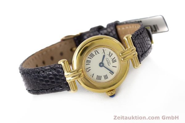 Used luxury watch Cartier Vermeil silver-gilt quartz Kal. 90  | 161864 03