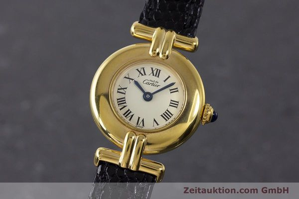Used luxury watch Cartier Vermeil silver-gilt quartz Kal. 90  | 161864 04