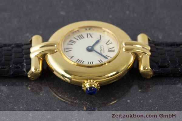 Used luxury watch Cartier Vermeil silver-gilt quartz Kal. 90  | 161864 05