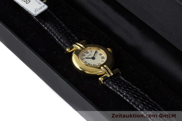 Used luxury watch Cartier Vermeil silver-gilt quartz Kal. 90  | 161864 07