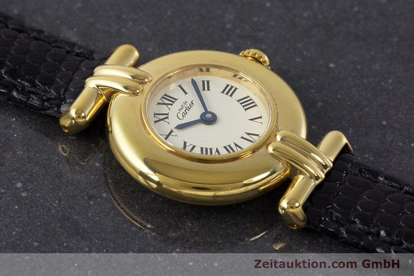 Used luxury watch Cartier Vermeil silver-gilt quartz Kal. 90  | 161864 12