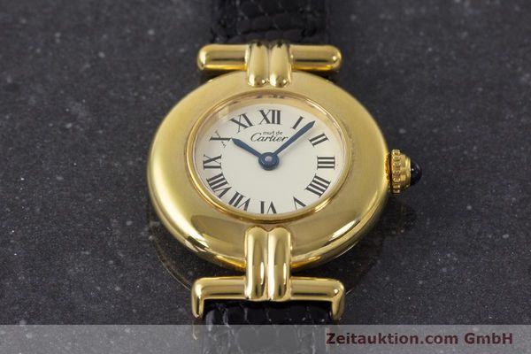 Used luxury watch Cartier Vermeil silver-gilt quartz Kal. 90  | 161864 13