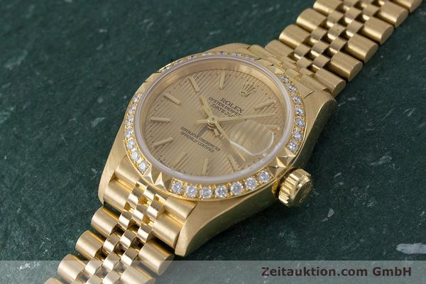 Used luxury watch Rolex Lady Datejust 18 ct gold automatic Kal. 2135 Ref. 69268  | 161866 01