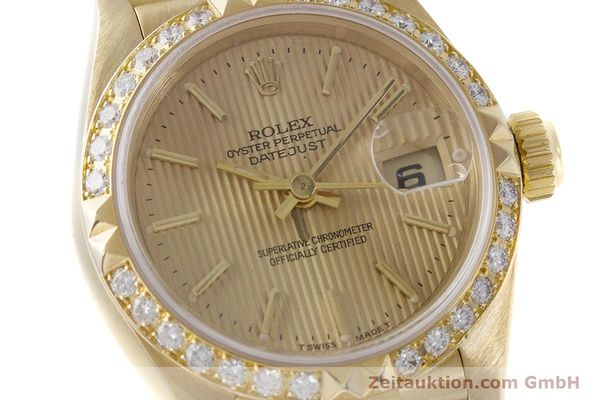 Used luxury watch Rolex Lady Datejust 18 ct gold automatic Kal. 2135 Ref. 69268  | 161866 02