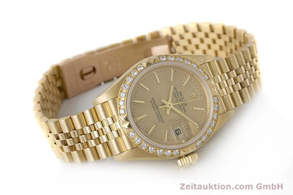 Used luxury watch Rolex Lady Datejust 18 ct gold automatic Kal. 2135 Ref. 69268  | 161866 03