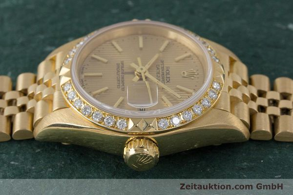 Used luxury watch Rolex Lady Datejust 18 ct gold automatic Kal. 2135 Ref. 69268  | 161866 05
