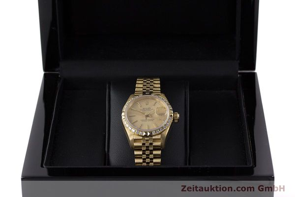 Used luxury watch Rolex Lady Datejust 18 ct gold automatic Kal. 2135 Ref. 69268  | 161866 07